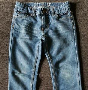 LRG Designer Boys STRAIGHT LEG Jeans SIZE 10